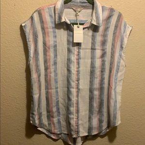 Striped Madison Shirt NWT